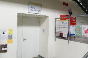 Ingresso Casa della Salute di Biella presso Ospedale ASL BI