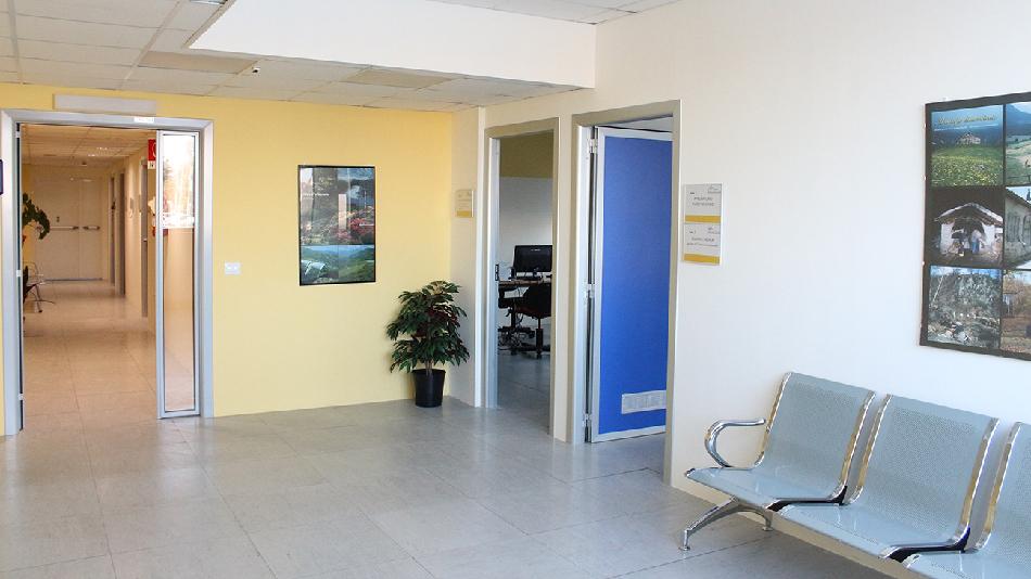 Uno scorcio interno della Casa della Salute di Biella, sede del Centro per il Trattamento del Tabagismo
