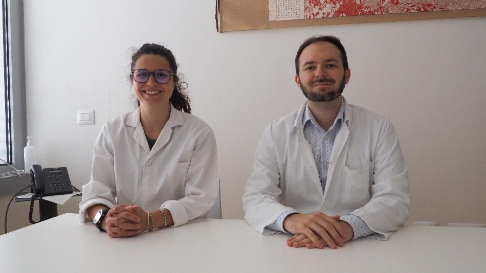 La dottoressa Giulia Rosa e il dottor Jacopo Pettinelli, nuovi Medici di Medicina Generale