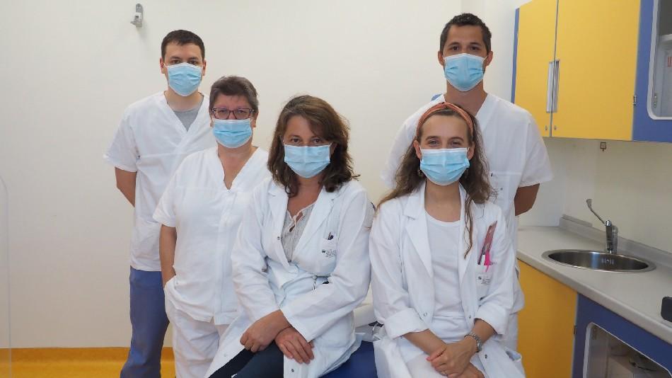 Staff del Reparto di Nefrologia e Dialisi