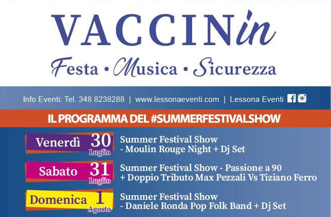 Open Night vaccinale