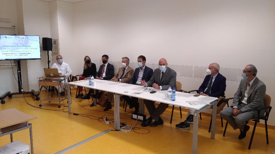Digital Pathology, Conferenza Stampa sul progetto